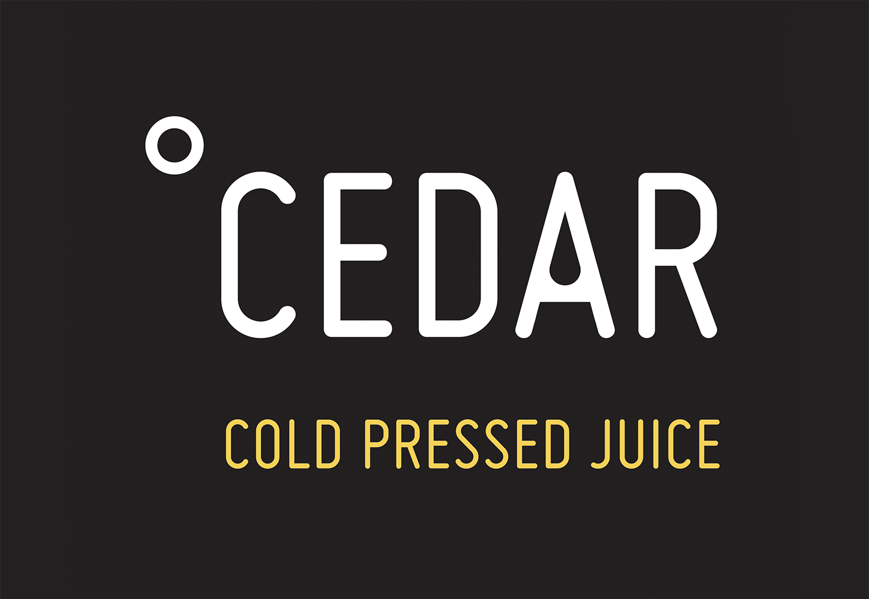 Cedar cold pressed juice logo