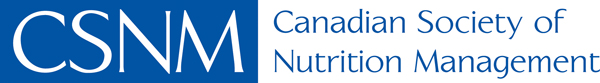canadian society of nutrition management logo