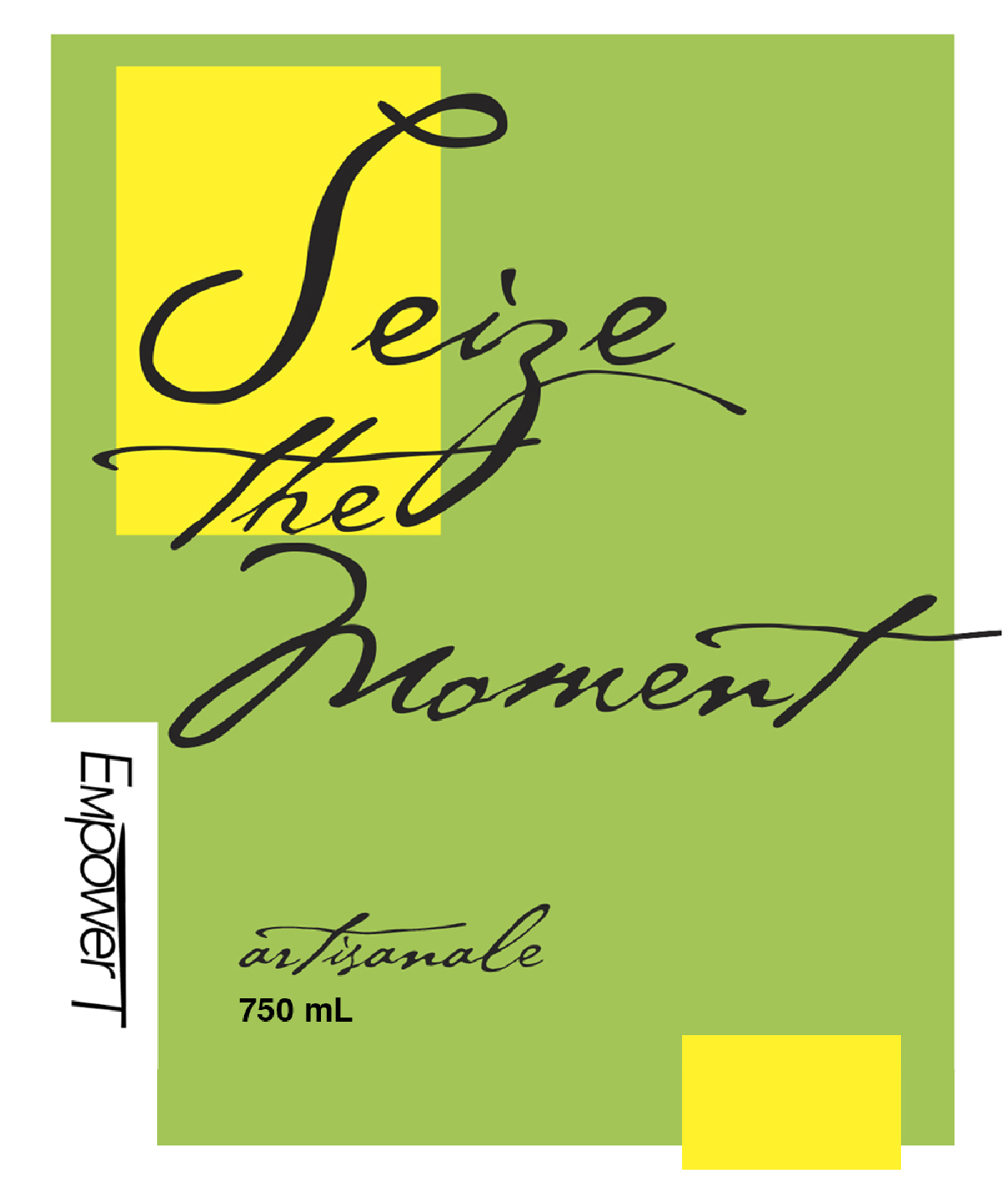 Empower T seize the moment logo